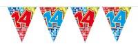 Wimpelkette für den 14. Geburtstag