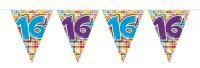 Wimpelkette für den 16. Geburtstag