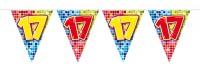 Wimpelkette für den 17. Geburtstag