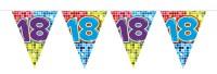 Wimpelkette für den 18. Geburtstag