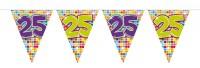 Wimpelkette für den 25. Geburtstag