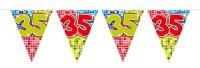 Wimpelkette für den 35. Geburtstag