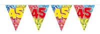 Wimpelkette für den 45. Geburtstag