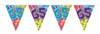 Wimpelkette für den 65. Geburtstag