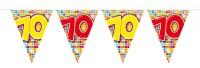 Wimpelkette für den 70. Geburtstag