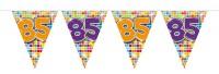 Wimpelkette für den 85. Geburtstag