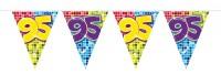 Wimpelkette für den 95. Geburtstag