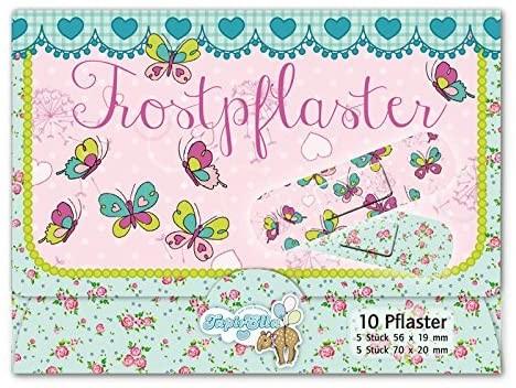 10 Kinder-Pflaster Schmetterlinge