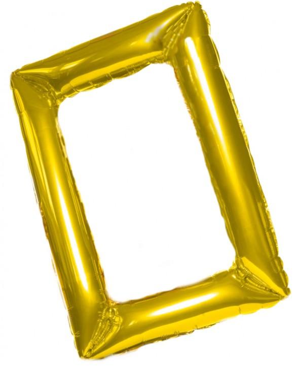 Air-Filled Bilderrahmen Gold -  (60x85cm)