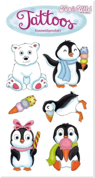 Süße Pinguine Tattoos