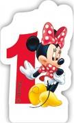 Zahlenkerze #1 - Minnie Maus