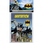 8 Einladungen Batman