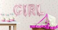 Folienballon-Set Girl