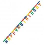 Happy Birthday Banner Bausteine
