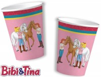8 Becher Bibi und Tina