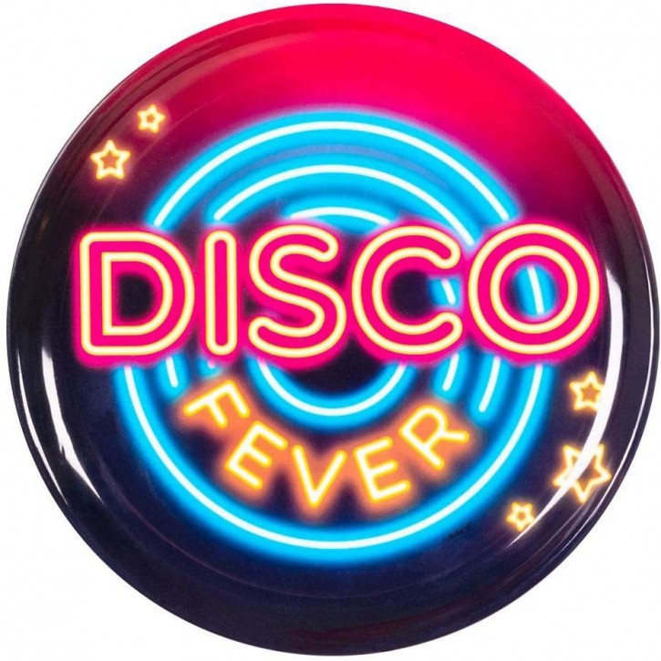 Serviertablett Disco