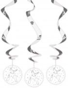 Rotor-Spirale Weiße Tauben