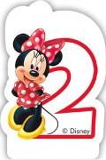 Zahlenkerze #2 - Minnie Maus