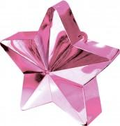 Ballongewicht Stern - in Rosa