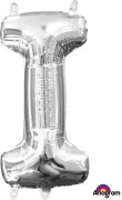 Folienballon XXL-Buchstabe I - in Silber