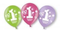 6 Luftballons Birthday Girl
