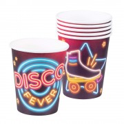 6 Party-Becher Disco