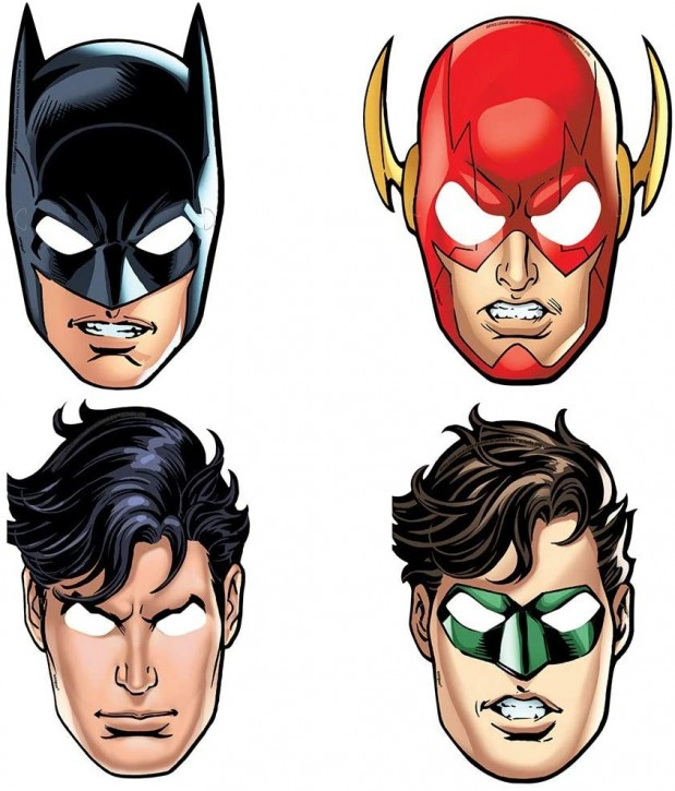 8 Masken Justice League