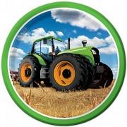 8 Teller Traktor