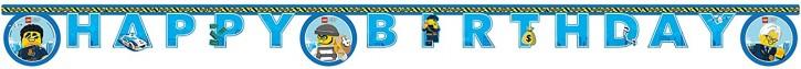 Buchstabengirlande Lego City