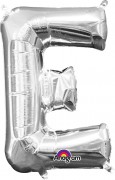 Folienballon XXL-Buchstabe E - in Silber