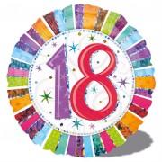 Folienballon 18. Geburtstag