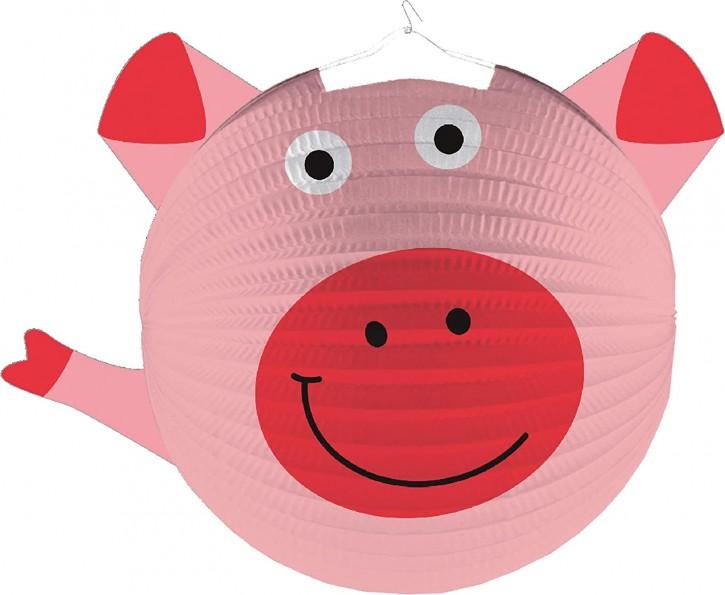 Laterne Süßes Schwein