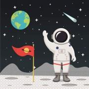 20 Servietten Astronaut & Weltraum