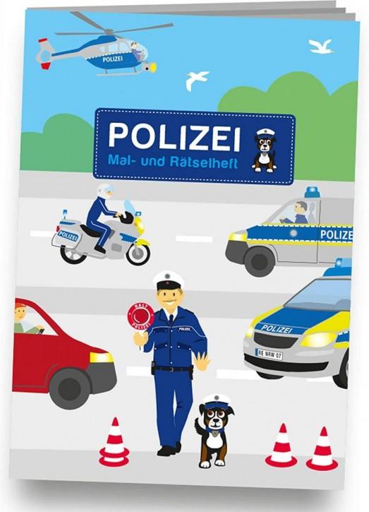 Mal- und Rätselheft Polizei