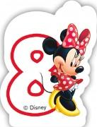 Zahlenkerze #8 - Minnie Maus