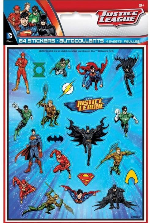 84 Sticker Justice League