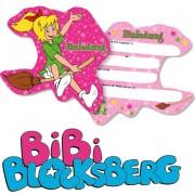 6 Einladungskarten Bibi Blocksberg