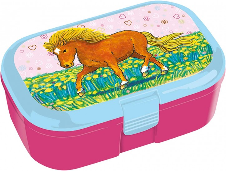 """Lunchbox """"Mein Ponyhof 2"""" von Lutz Mauder"""