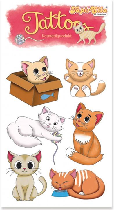 Niedliche Katzen Tattoos