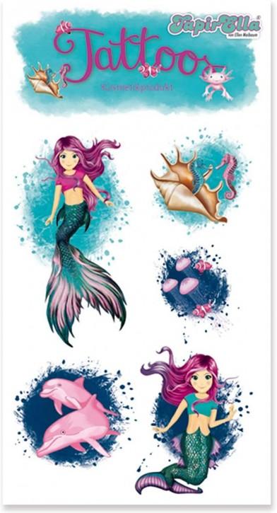 Meerjungfrau Coralie Tattoos