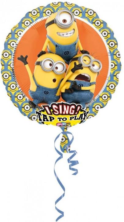 Singender Folienballon Minions