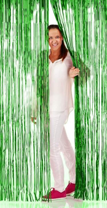 Türvorhang Grün