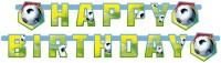 Happy Birthday Banner Fußball II