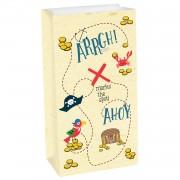 8 Partytüten Ahoy! - aus Papier