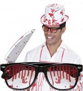 Blutige Brille Halloween