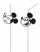 6 Trinkhalme Mickey - Super Cool