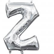 Folienballon Buchstabe Z - in Silber