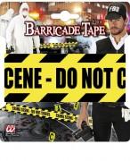 1x Absperrband Crime Scene