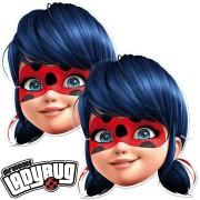 6 Masken Ladybug