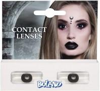 Kontaktlinsen in Schwarz